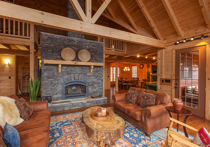 Sky High Lodge Blue Ridge Cabin Rentals North Ga