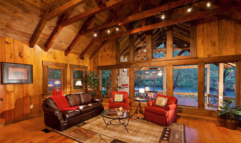Time Flies Cabin Blue Ridge Cabin Rentals Toccoa River Cabin Rentals