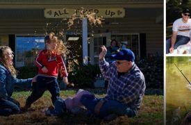 Family Things To Do in Blue Ridge GA | Cabin Rentals of Georgia | outdoor fun with families, playing games, fishing