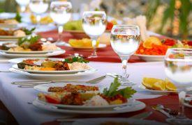 Personal Chef Catering | Cabin Rentals of Georgia | beautiful dinner presentation