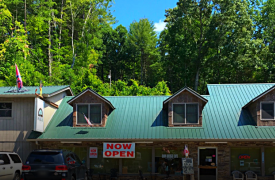 Iron Bridge Cafe | Eating In Blue Ridge | Cabin Rentals of Georgia