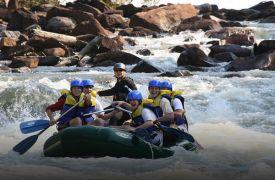 Raft One | Outdoor Activities in North GA | Cabin Rentals of Georgia