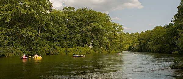 Tubing On The Toccoa River Cabin Rentals Of Georgia