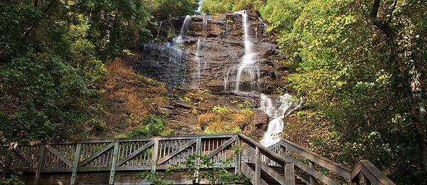 Amicalola Falls Waterfalls In North Georgia