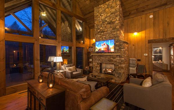 Creekside Bend Cabin Rentals Of Georgia Luxury
