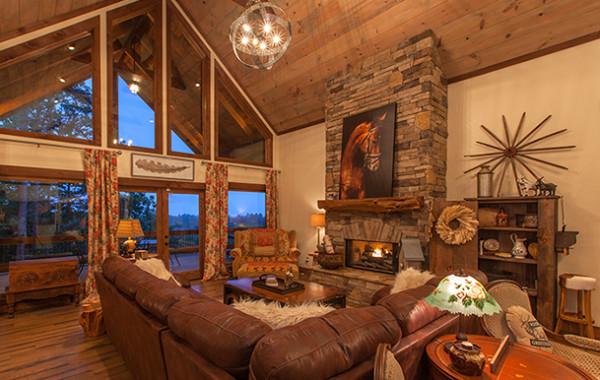 Birchwood Lodge | Ellijay Vacation Rentals | Blue Ridge Cabin