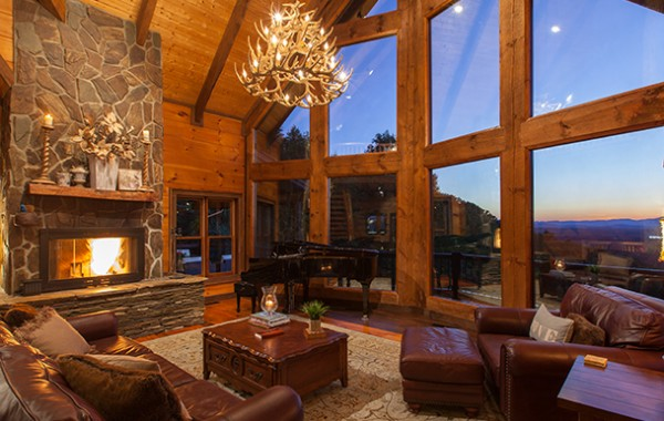 Royal Mountain Lodge Luxury Blue Ridge Cabin Rentals