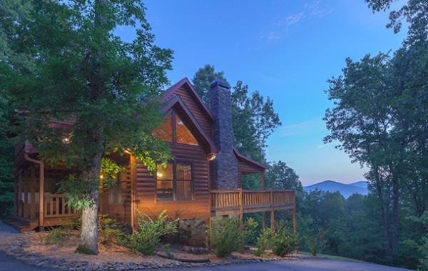 Blue Horizon Lodge Blue Ridge Luxury Cabin Rentals North
