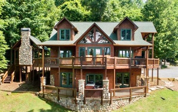 Blue Ridge Bliss Luxury Blue Ridge Cabin Aska Adventure Area Cabin Rentals Of Georgia