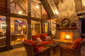 Cabin Rentals of Georgia | Blue Ridge Cabin Rentals | Cohutta Sunset