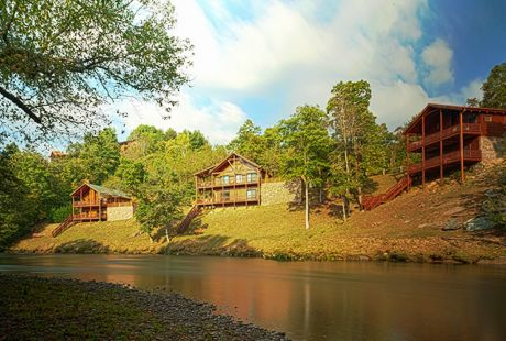 Hiwassee River Run North Carolina Cabin Rentals Cabin