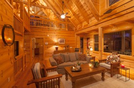 Hidden Valley Lodge | Cabin Rentals of Georgia | Great Space For Friends