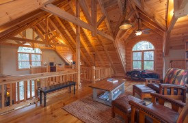 Hidden Valley Lodge | Cabin Rentals of Georgia | Home Office