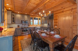 Hidden Valley Lodge | Cabin Rentals of Georgia | Plenty of Kitchen Space