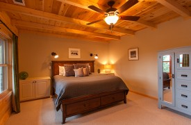 Hidden Valley Lodge | Cabin Rentals of Georgia | Terrace Level Master