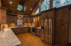 Creekside Bend | Blue Ridge Luxury Cabin Rental | Cabin Rentals of Georgia | Kitchen