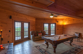 Sky High Lodge | Game Room | Cabin Rentals of Georgia