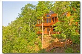 Riverview Lodge | Cabin Rentals of Georgia | Nestled Among Forestry