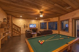 Game Area | Down By The River | Cabin Rentals of Georgia