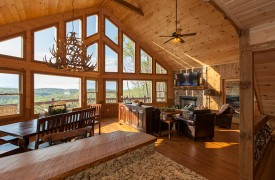 Arcadia | Cabin Rentals of Georgia | Beautiful Open Floor Plan