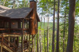 Above the Timberline | Cabin Rentals of Georgia | Mountaintop Living