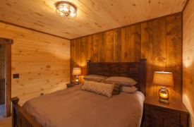 Above the Timberline | Cabin Rentals of Georgia | Terrace Level King Bedroom