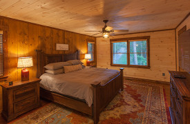 Above the Timberline | Cabin Rentals of Georgia | King Master