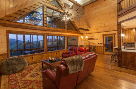 Above the Timberline | Cabin Rentals of Georgia | Beautiful Views and Luxury