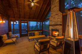 Above the Timberline | Cabin Rentals of Georgia | Outdoor Living