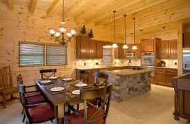 Outlaw Ridge | Cabin Rentals of Georgia | Open Kitchen