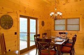 Outlaw Ridge | Cabin Rentals of Georgia | Elegant Dining Area