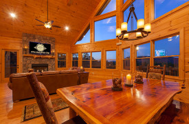 Bella Vista Lodge | Cabin Rentals of Georgia | Breathtaking Views