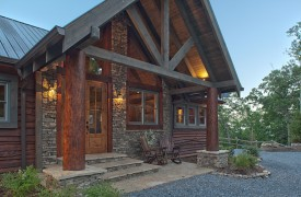 Cohutta Sunset | Cabin Rentals of Georgia | Grand Portico