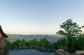 Cohutta Sunset | Cabin Rentals of Georgia | Breathtaking Mountain Views
