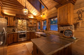 Cohutta Sunset | Cabin Rentals of Georgia | Fully Equipped Kitch