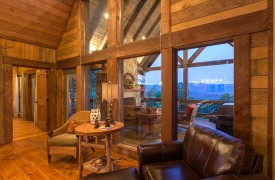 Cohutta Sunset | Cabin Rentals of Georgia | Beautiful Mountain Views
