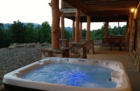 Cadence Ridge | Cabin Rentals of Georgia | Beautiful Hot Tub & Fire Pit