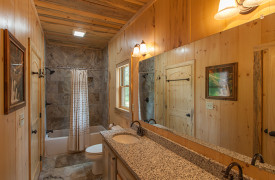 Blue Ridge Intown Retreat | Cabin Rentals of Georgia | King Suite