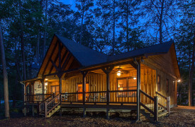 Blue Ridge Intown Retreat | Cabin Rentals of Georgia | Exterior View
