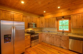 High Hopes | Cabin Rentals of Georgia | Kitchen