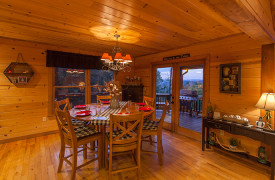 Blue Ridge Bliss | Cabin Rentals of Georgia | Dining with Views