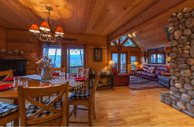 Blue Ridge Bliss | Cabin Rentals of Georgia | Mountain Views from Every Room