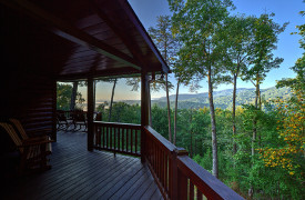 Blue Ridge Bliss | Cabin Rentals of Georgia | Porch Living w/ Views