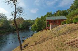Hiwassee River Sanctuary | Cabin Rentals of Georgia | Murphy Cabins