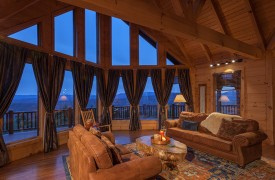 Sky High Lodge | Living with Views | Cabin Rentals of Georgia