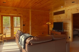 Serendipity On Noontootla Creek | Cabin Rentals of Georgia | Living Area