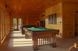 Serendipity On Noontootla Creek | Cabin Rentals of Georgia | Game Room
