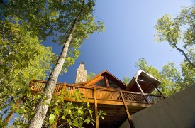 Aska Adventure Outpost | Cabin Rentals of Georgia | Covered Porches