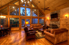Blue Ridge Lake Sanctuary | Cabin Rentals of Georgia | Luxe Living w/ Lake Views