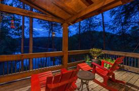 Blue Ridge Lake Sanctuary | Cabin Rentals of Georgia | Beautiful Lake Views